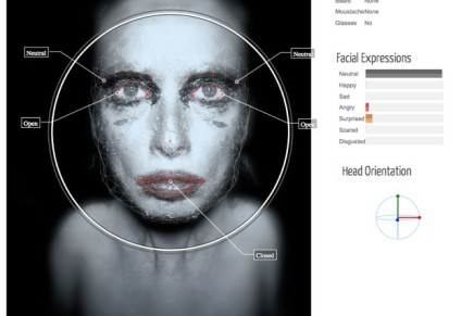 FACEREADER: analyzing Self Portrait #054