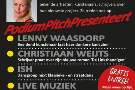 September 21: Podium Pitch @ The Dutch National Museum of Antiquities (Rijksmuseum van Oudheden)