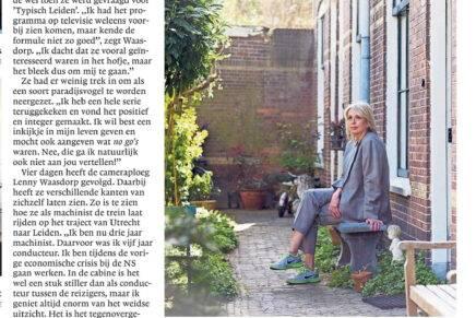 Interview in Leidsch Dagblad
