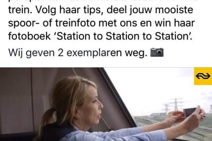 Dutch Railways publishes video item on Station to Station to Station